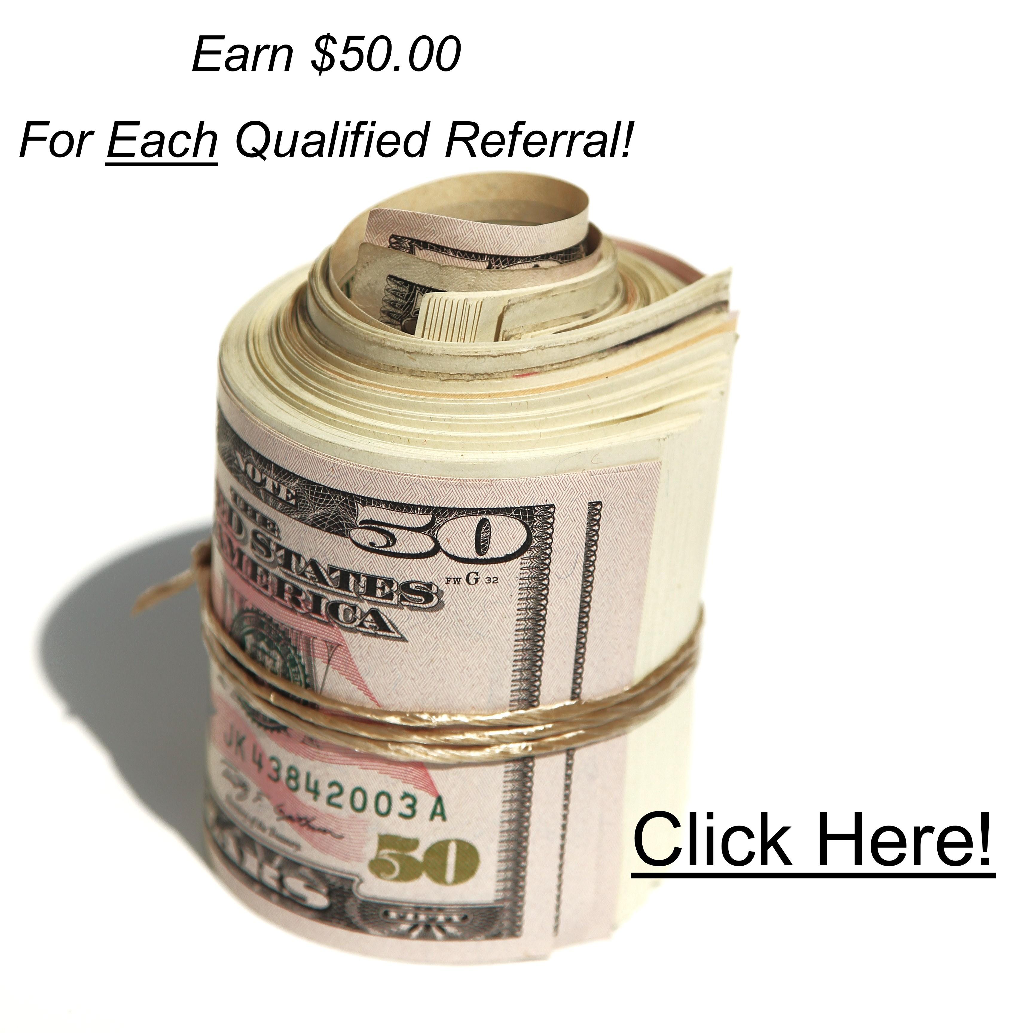 Earn 50 Per Referral